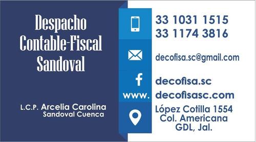 despacho contable y fiscal