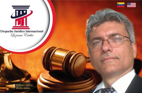 despacho jurídico internacional lezama etalia