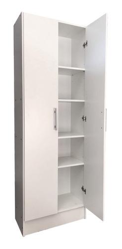 despensero 2 puertas 180cm multifuncion organizador + cuotas
