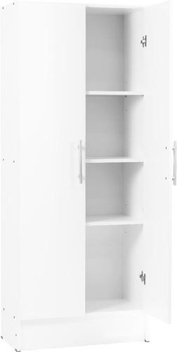 despensero 2 puertas organizador cocina 60 cm c/fondo blanco
