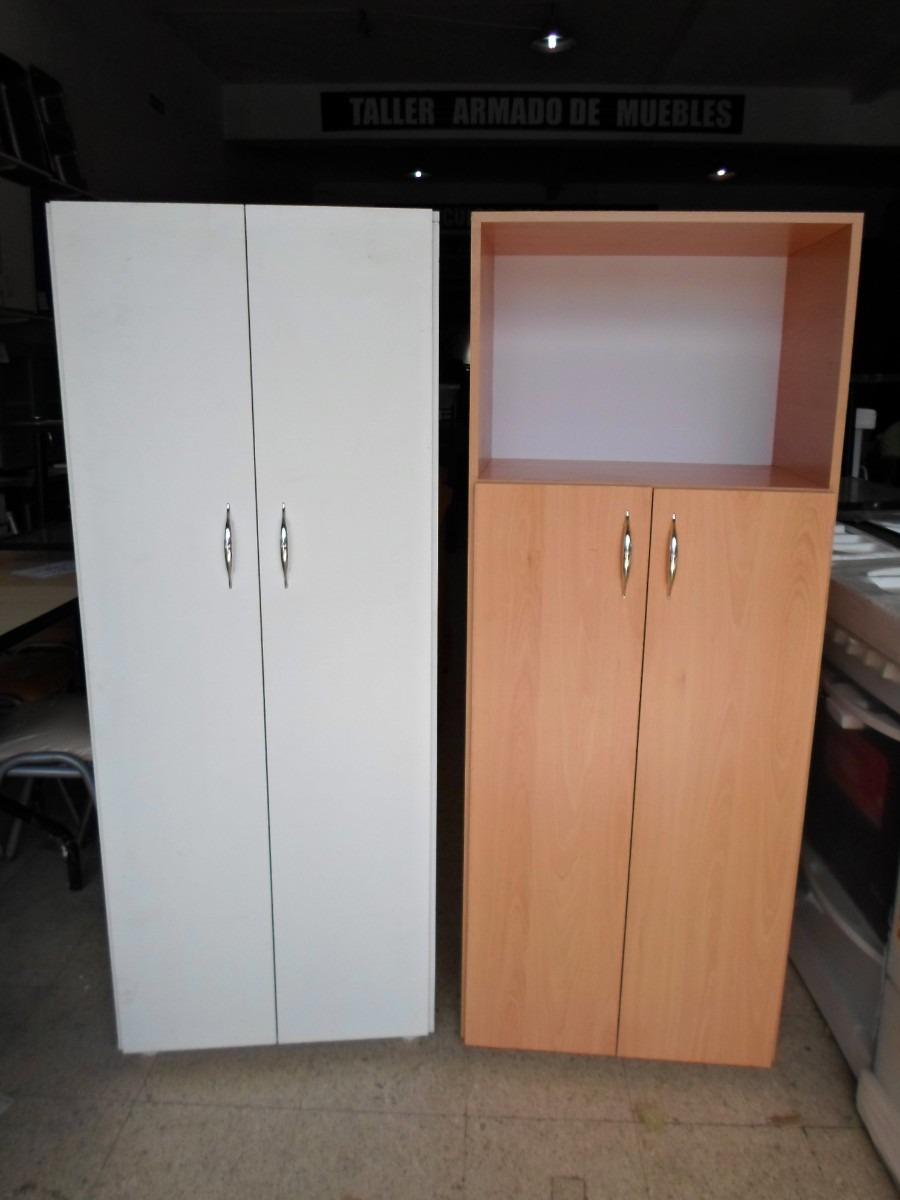 Despensero Con Porta Microondas Armado Varios Colores 1 819  # Muebles Faciles Liniers
