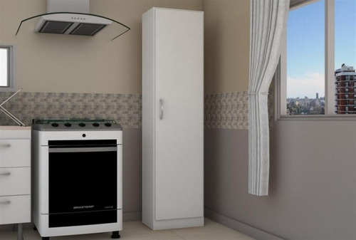 despensero-organizador 1 puerta en melamina 40 x 180 x 30