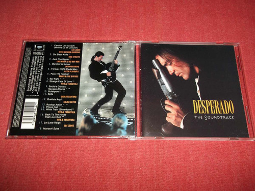 desperado - soundtrack cd nac ed 1995 mdisk