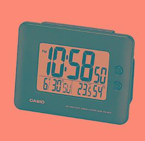 1154dd48f4fe Despertador Digital Casio - Relógios Despertadores no Mercado Livre Brasil