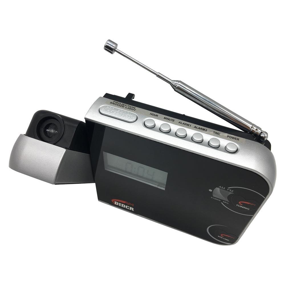 a2225ffea23 despertador digital am fm com projetor de horas preto cr-308. Carregando  zoom.
