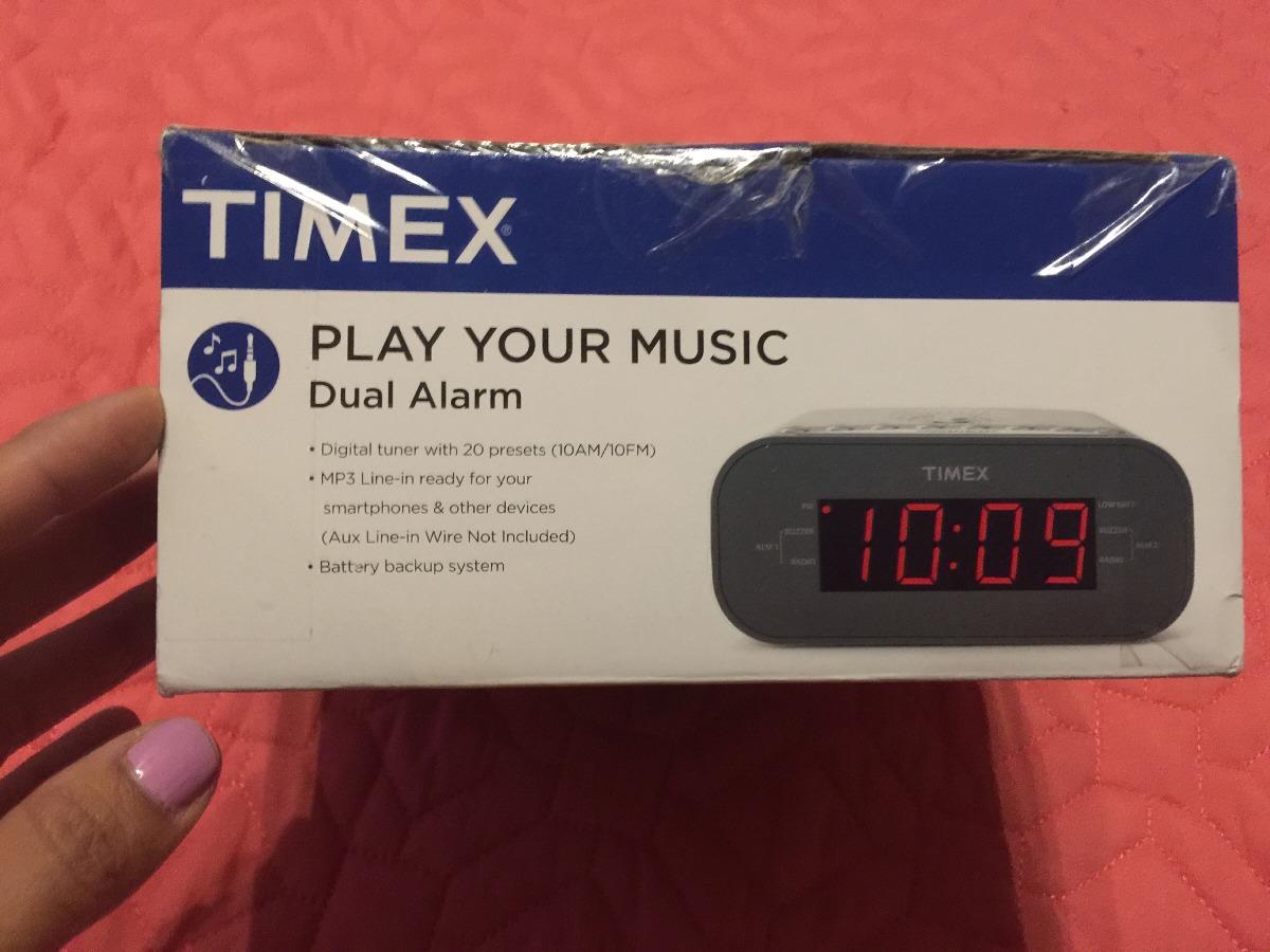 6fdc10a92927 Despertador Timex -   899.00 en Mercado Libre