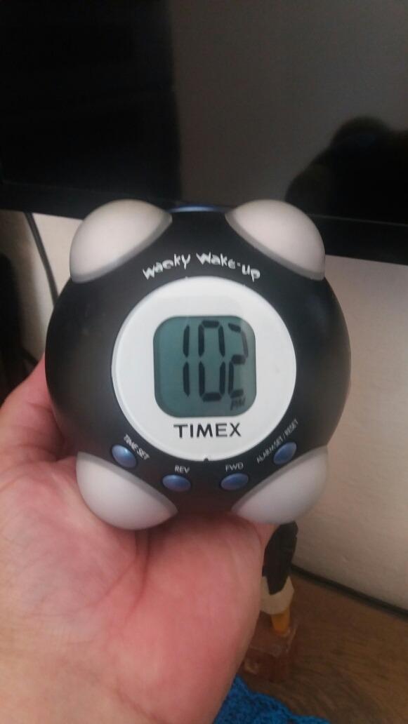 813ad2027ef9 despertador timex modelo t156b. Carregando zoom.