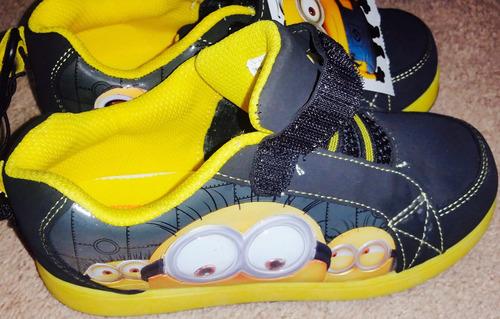 despicable me! zapatillas nuevas c/ etiquetas
