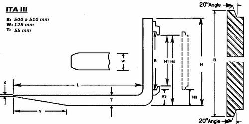 desplazador lateral, uñas 1.5t, 2,5, 3tn y  4tn. iva incl.