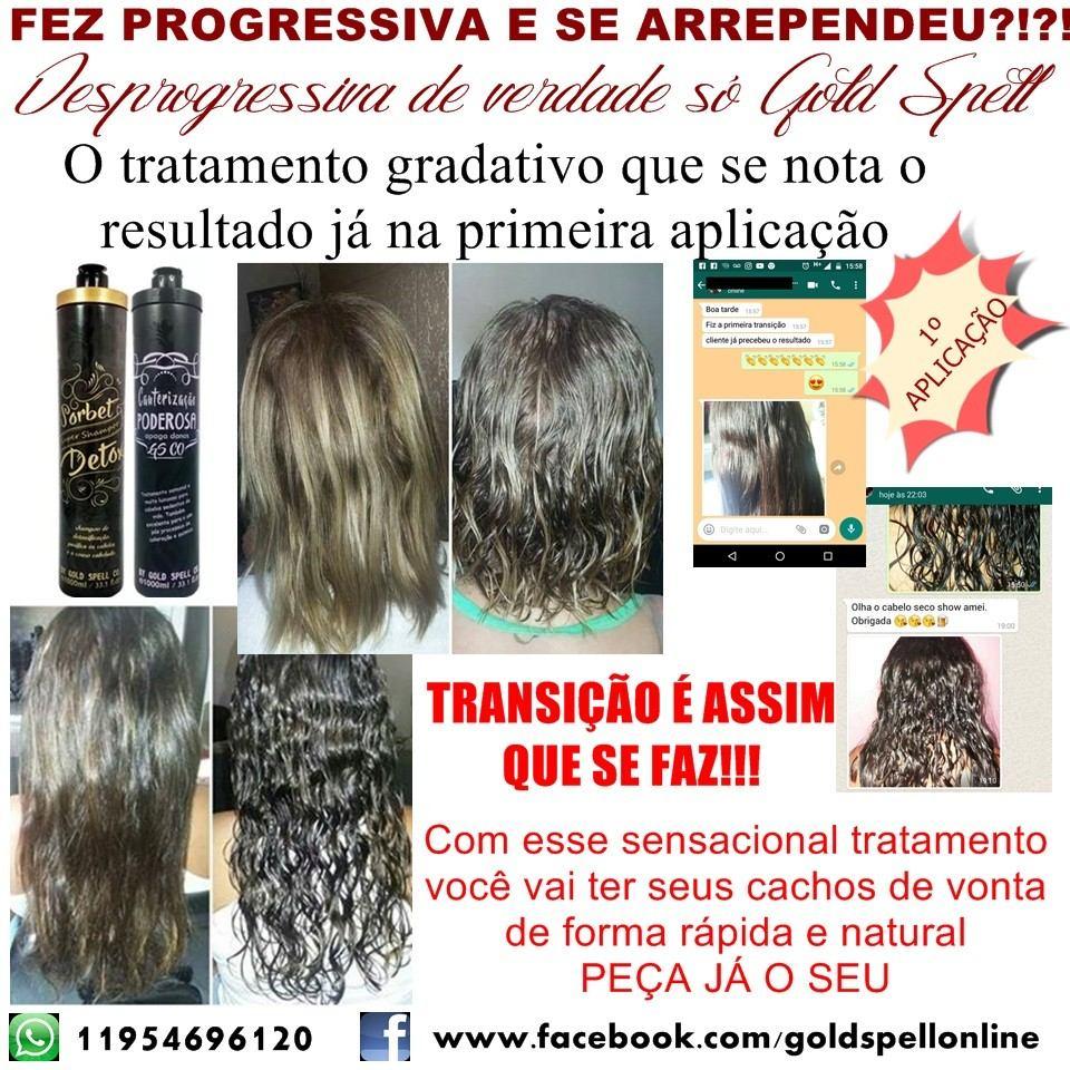 e8f927a0f Desprogressiva - Remoção De Progressiva - Transição Capilar - R$ 170 ...