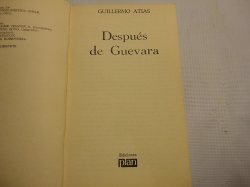 despues de guevara g. atias 1968