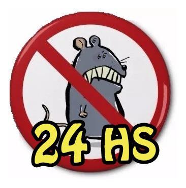 desratizacion y fumigaciones 24 hs