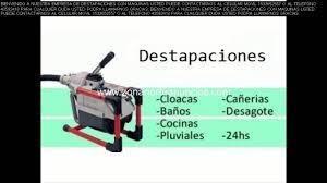 destapaciones cloacas cocina /lavadero/pluvial con máquina