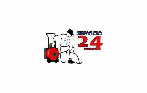 destapaciones con maquina las 24 hs trabajos con garantia