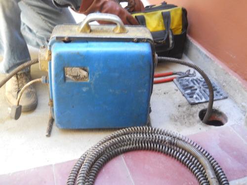 destapaciones con maquina urgencias gasista matriculado
