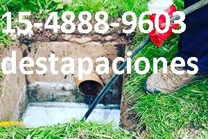 destapaciones en villa riachuelo (cañerias, cloacas) 24hrs