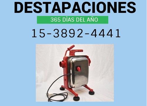 destapaciones zona sur avellaneda 15-2864-2988