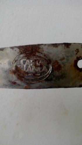 destapador antiguo de cerveza cartablanca de coleccion