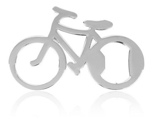 destapador bicicleta plata
