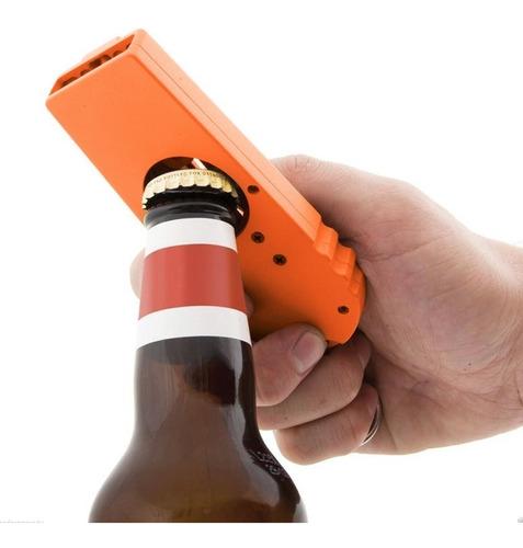 destapador de botellas con lanza corcholatas cap zappa h1262