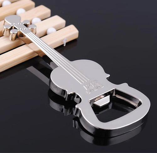 destapador en forma de violin chelo contrabajo