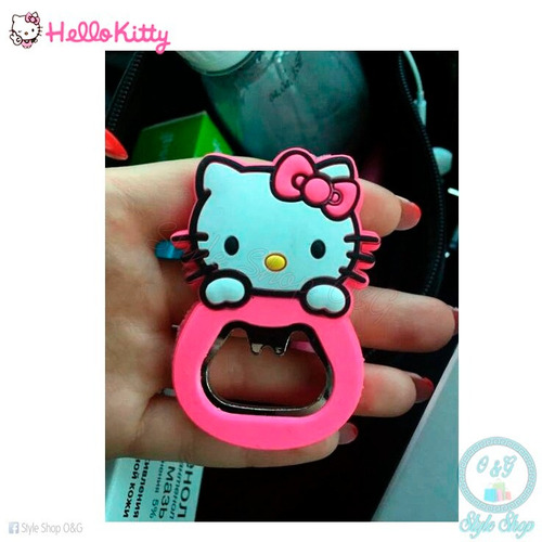destapador hello kitty con imán