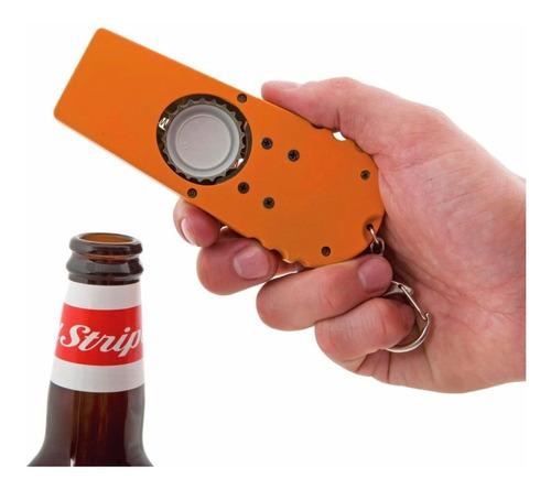 destapador  lanzador tapas de botella
