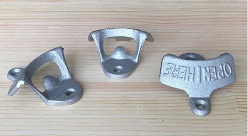 destapador open here retro silver plata