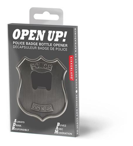 destapador símbolo  de policia