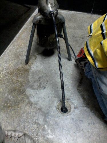 destapados de cañeria ,servicio de plomeria 24hrs al dia