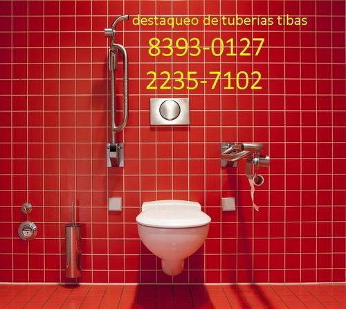 destaqueo de tuberías mercado libre cr tibas 84557500