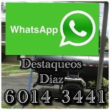 destaqueos diaz tanque septicos drenajes 6014-3441 8682-6626