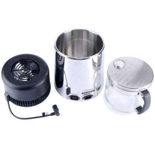 destilador de agua pura 1 galón 4l, todos de acero...