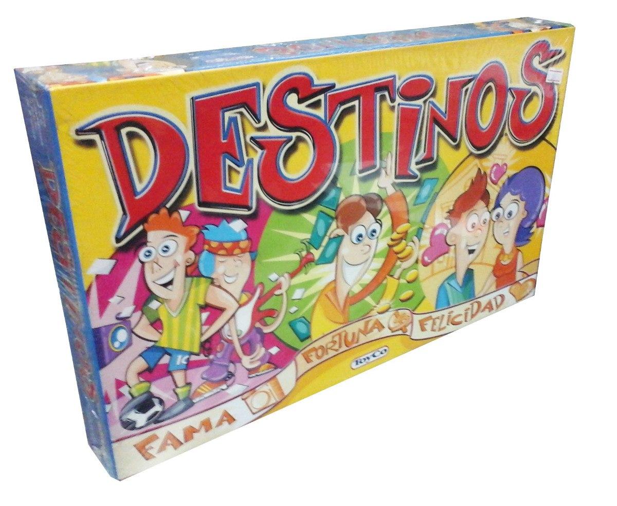 Destinos Juego De Mesa Familiar Nuevo Toyco 359 99 En Mercado Libre