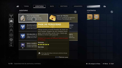 destiny 2 pruebas de osiris full set