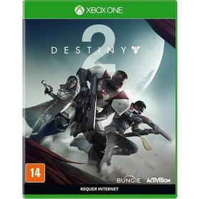 Destiny 2 Xbox One Original Lacrado Mídia Física Português