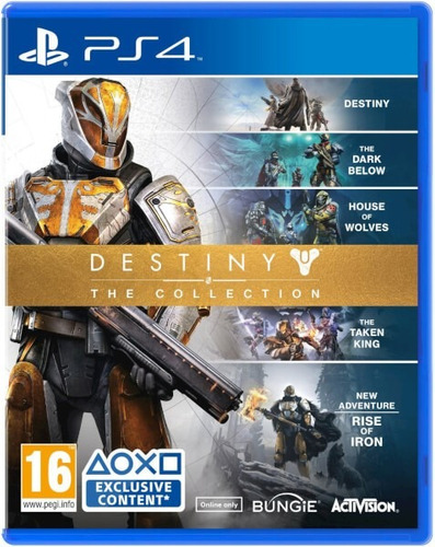 destiny collection ps4 nuevos y sellados