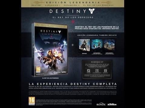 destiny edición legendaria xbox one - nuevo sellado físico