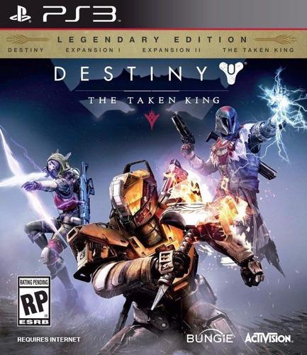 destiny edición legendario taken king ps3 playstation 3