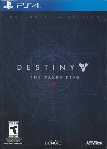 destiny the taken king collectors edition ps4 importado