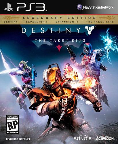 destiny the taken king legendary edition ps3 digital gcp