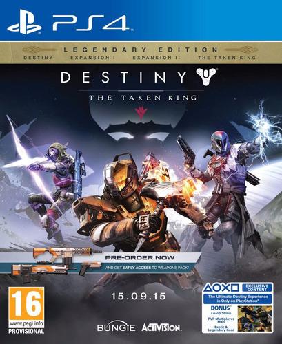 destiny the taken king legendary edition ps4 nuevo fisico