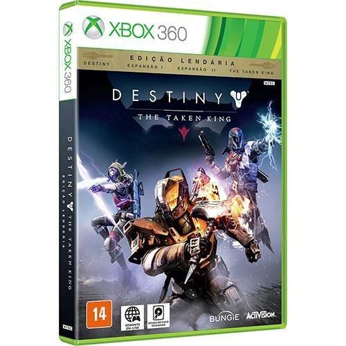 destiny the taken king xbox 360 mídia fisica original lacrad