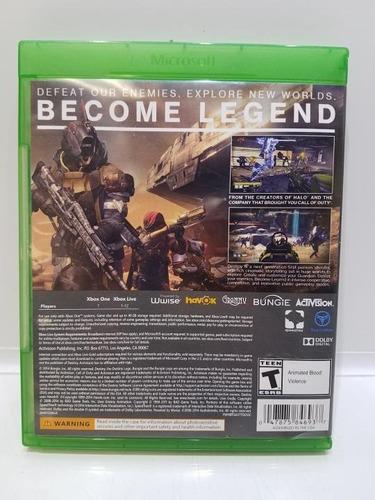 destiny xbox one nuevo sellado 100% original en stock