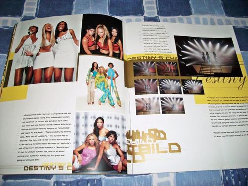 destiny's child tour book 2002 survivor