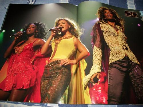 destiny's child tour book 2005 destiny fulfilled