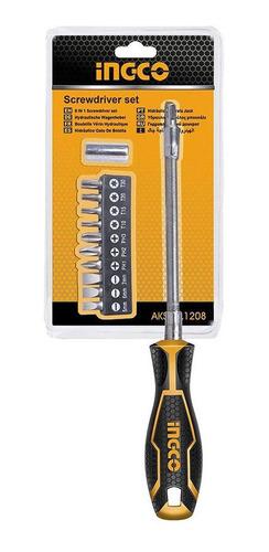 destornillador atornillador manual punta flexible imantada