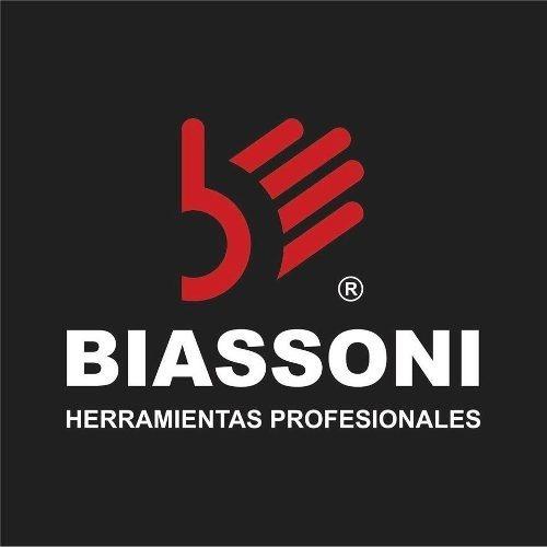 destornillador biassoni - punta plana conica pc 6x100