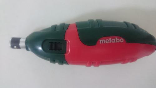 destornillador con puntas portatil metabo