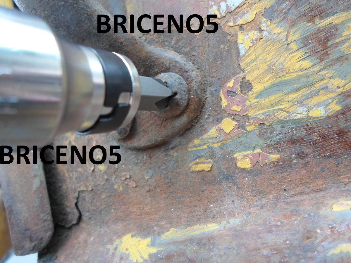 Destornillador de impacto profesional macizo 15pzs - Destornillador de impacto ...